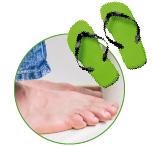 Профилактика грибка стопы и ногтей на ногах